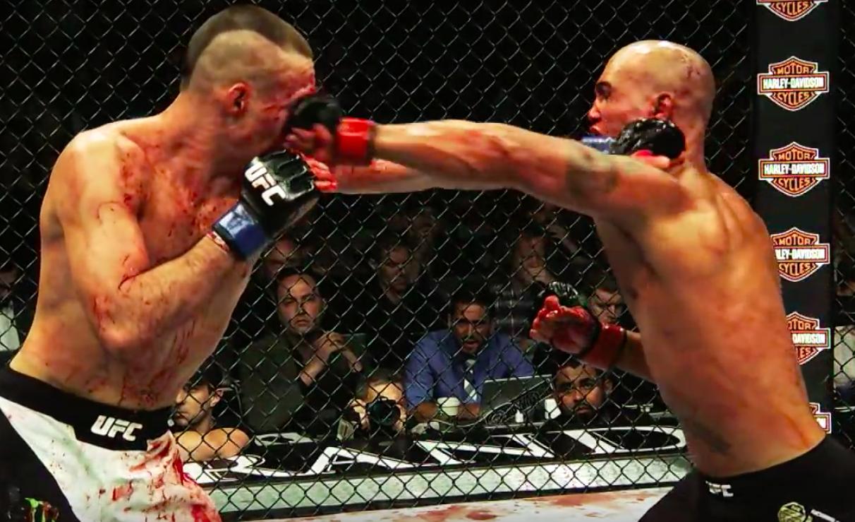 Du kan mene hva du vil om dommeravgjørelsen: Det er aldri kjedelig når Lawler går kamp. Foto: Youtube