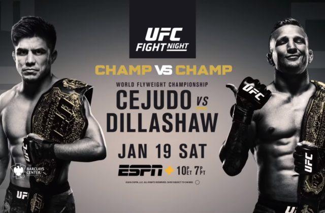 UFC Brooklyn, blir UFCs første event på ESPN.